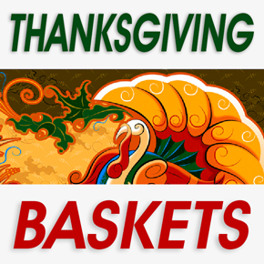 Nov 21-22 Packing Thanksgiving Baskets