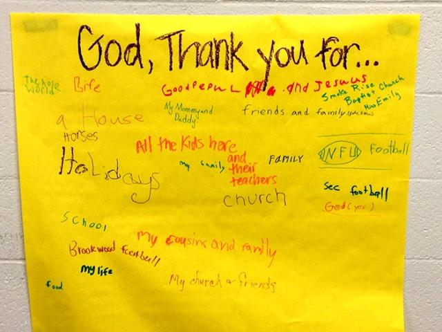 Kids Thanksgiving Psalm