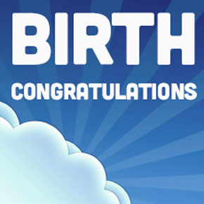 Birth Congratulations (11/6-12/15)