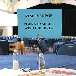 """Four Tables"" Help Support Families with Young Children"
