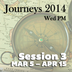 "Journeys Session 3 – Lenten Series: The ""I Am"" Sayings of Jesus"