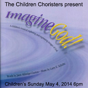 Children's Musical – Imagine God!
