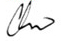 Chris' Signature
