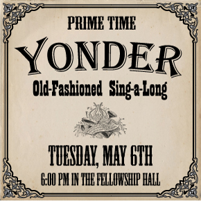 PRIME TIME: Adults 55+ – Yonder Sing-a-Long