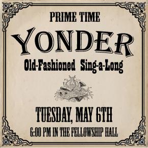 PRIME TIME: Adults 55+ – YonderSing-a-Long