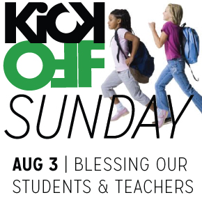 Kick-Off Sunday – Aug3