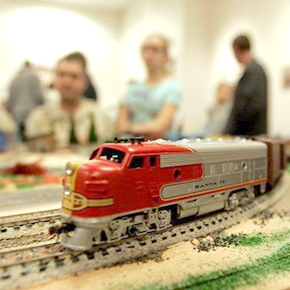Model Train Show Exhibit – July 26-27