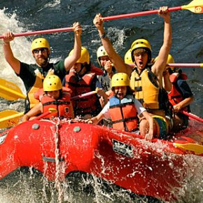 College/Young Adult Class White Water Challenge Aug 2