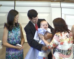 Family Baby Dedication