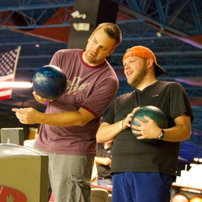 Still seeing Stars: Ernie Celebrates Church Wide Bowling Night