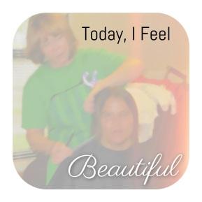 """Today, I FEEL beautiful"": HolyHaircuts"
