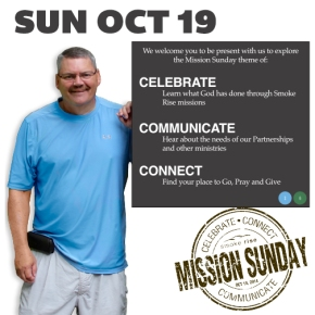 Mission Sunday 2014 – 10/19/14 Service – Tim Adcox