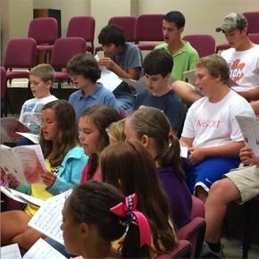 Youth Choir Off to a GreatStart