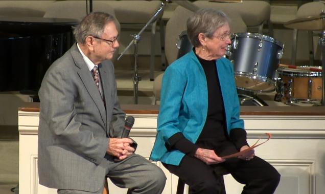 Mission Sunday 2014 Margaret & David Fite