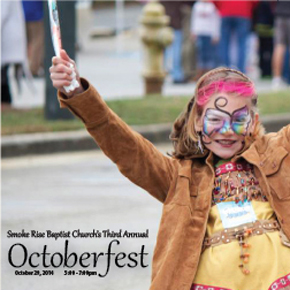 Octoberfest at Smoke Rise Baptist Church 10/29 5pm