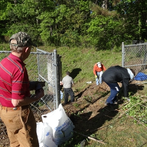 Volunteers Needed for Retention Pond Clean-Up Sat 10/18