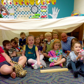 Building Noah's Ark – Preschool Sunday School