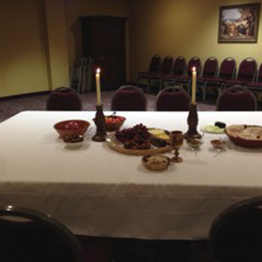 The Agape Meal: By Kathy Dobbins