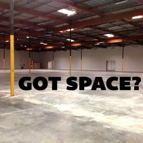 Got Space?