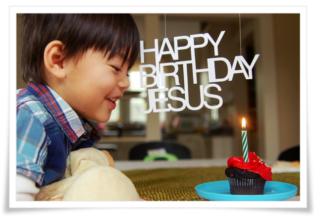 Jesus' birthday party