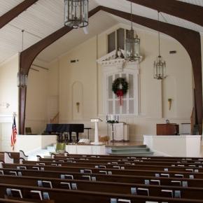 Worship in the Chapel Returns Sunday, Jan4th
