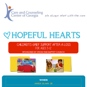Children's Grief Support – Hopeful Hearts