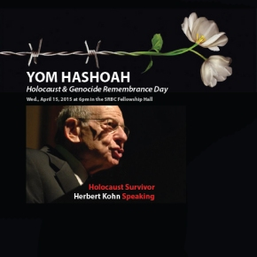 Audio Recording of Special Speaker: Herbert Kohn HolocaustSurvivor