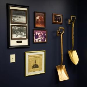 Heritage Room Shovels