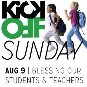 Kick-Off Sunday: August 9,2015