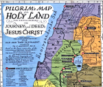 Holy Land Pilgrimage Map