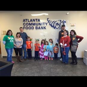 Family Day of Service at Atlanta Community FoodBank
