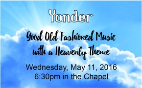 Yonder – May 11