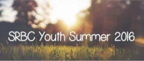 Summer 2016 YouthSchedule