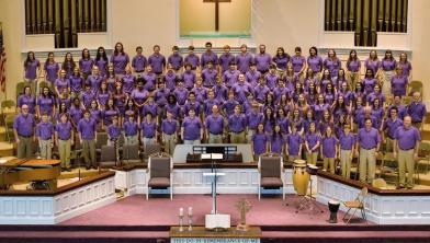 Special guest choir leading in worship at 11 on June 5th