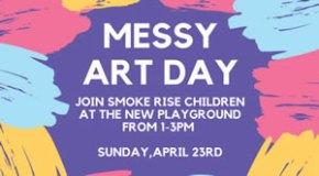 Messy Art Day