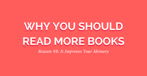 Why You Should Read More Books